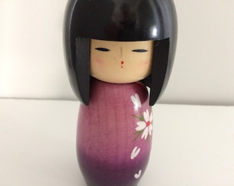 Japanese Kokeshi wooden doll / figurine