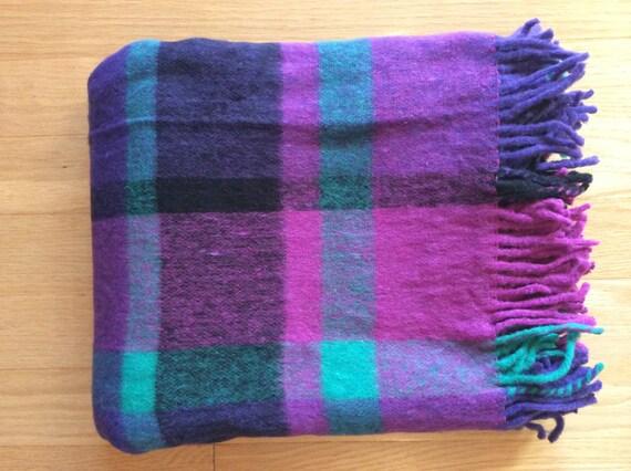 Vintage Italian Made Throw Blanket Etsy Amazing Italian Throw Blanket