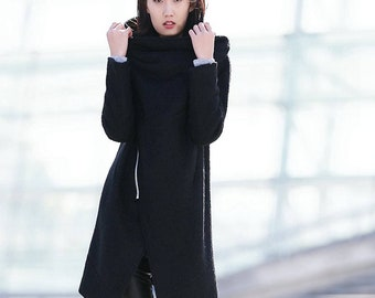 3e43a5b724f Black winter coat