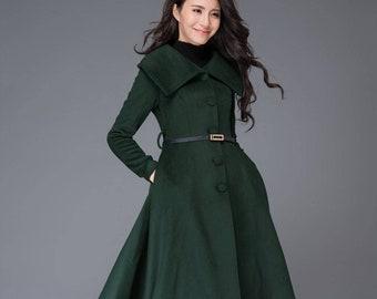 1dc608932 Wool coat | Etsy