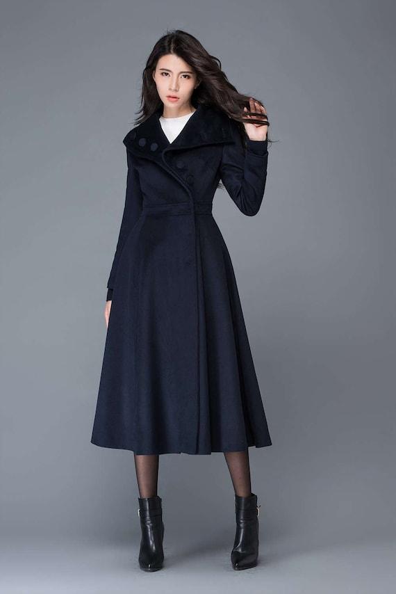 efa85549587 Midi wool coat wool coat womens winter coats dress coat