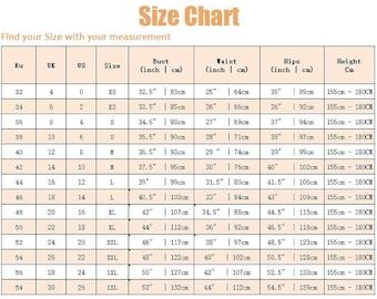 Ylistyle standard size chart