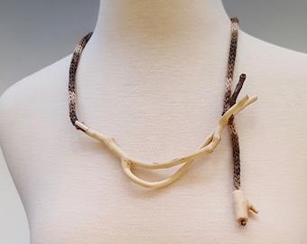 Fern Imprint Necklace \u2022 One Of A Kind
