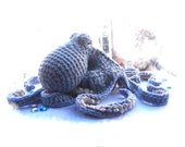 Crochet Pattern Realistic Octopus-Amigurumi Pattern Octopus-Stuffed Octopus and Crochet Rock-Amigurumi Octopus-Octopus Softie-Toy Octopus
