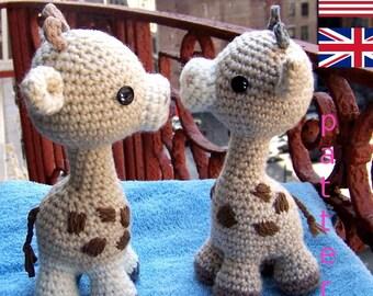 Crochet pattern Giraffe | Sabrina's Crochet | 270x340