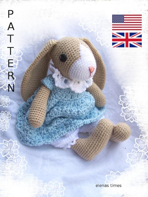 Couple Bunny Rabbit Doll Toys Custom With Clothing Amigurumi ... | 759x570