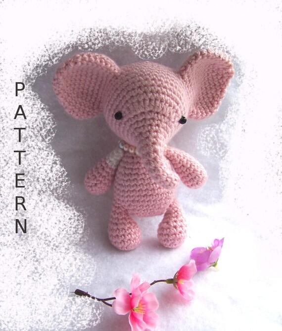 Amigurumi elephant tutorial toy pattern amigurumi doll   Etsy   671x570