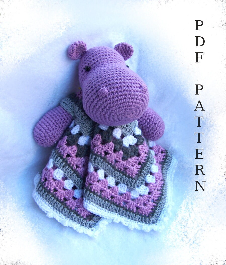 Crochet Hippo Pattern Amazing Inspiration Design