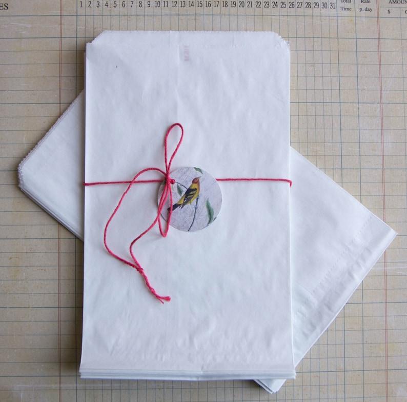 christmas  Set of 25-12x19cm Safe for food Gift bags  for wedding
