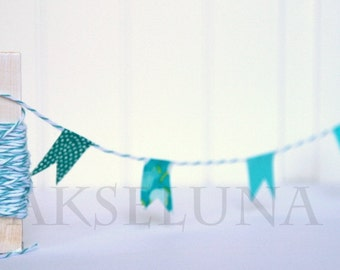 teal Baker's Twine string coton 10m