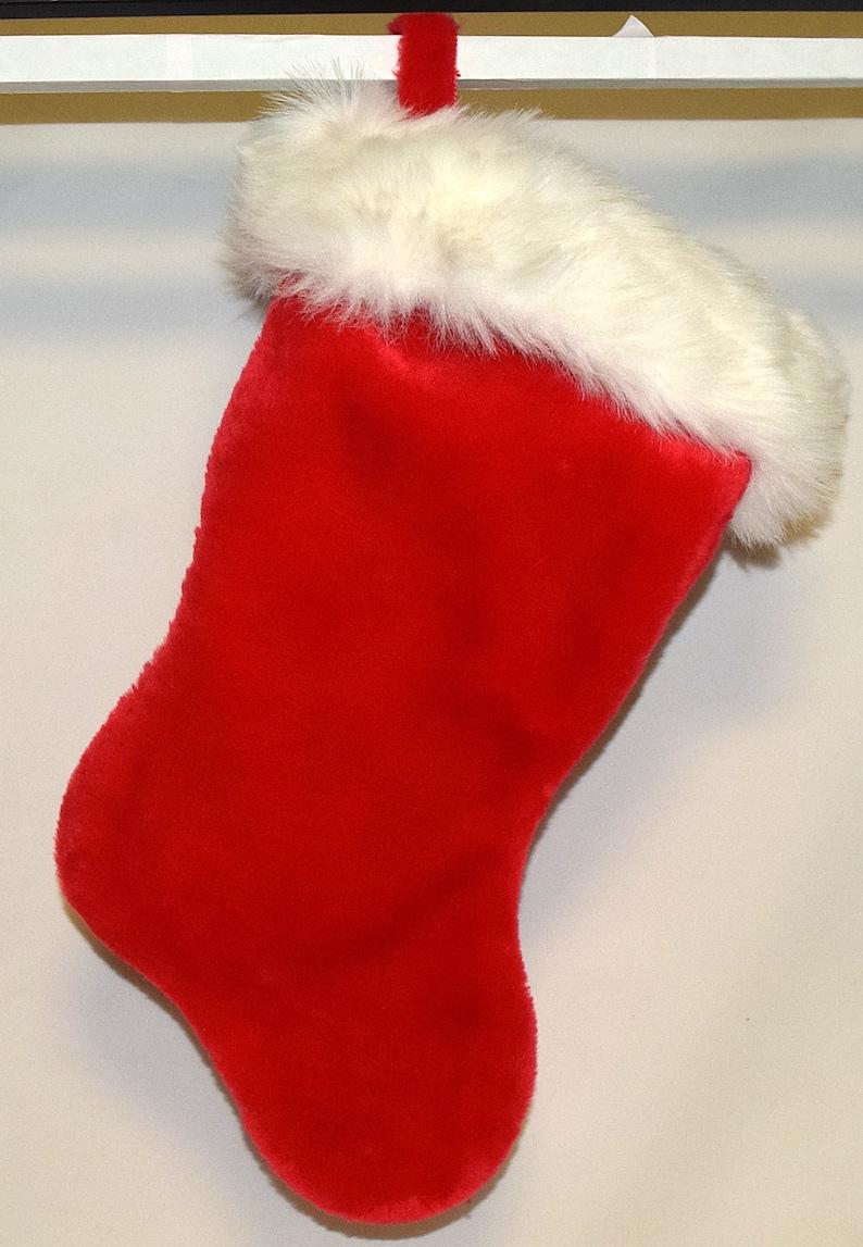 Lot Santa/'s Best Red /& White X/'mas Christmas Stockings CSL11 06420