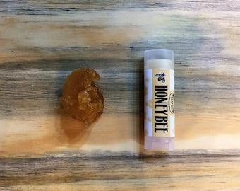 Honeybee Lip Balm- local honey and beeswax