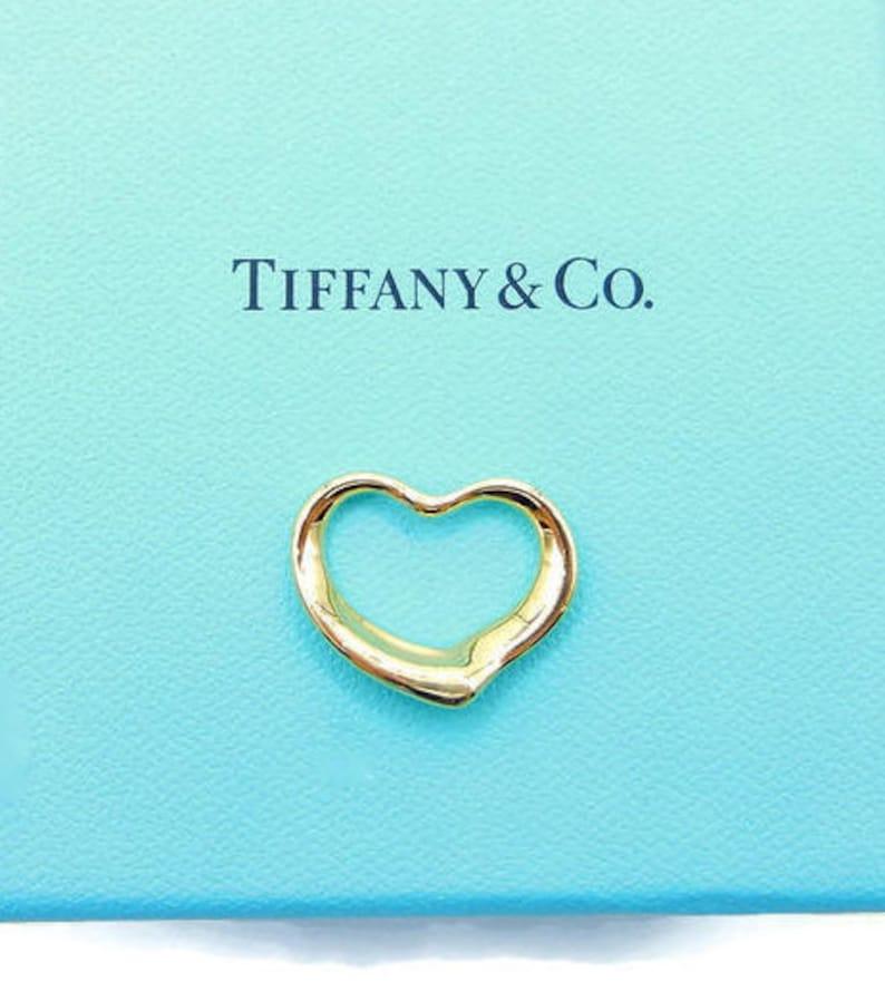 4528832b1 Authentic 18K Yellow Gold Tiffany & Co Elsa Peretti 22 mm Open   Etsy