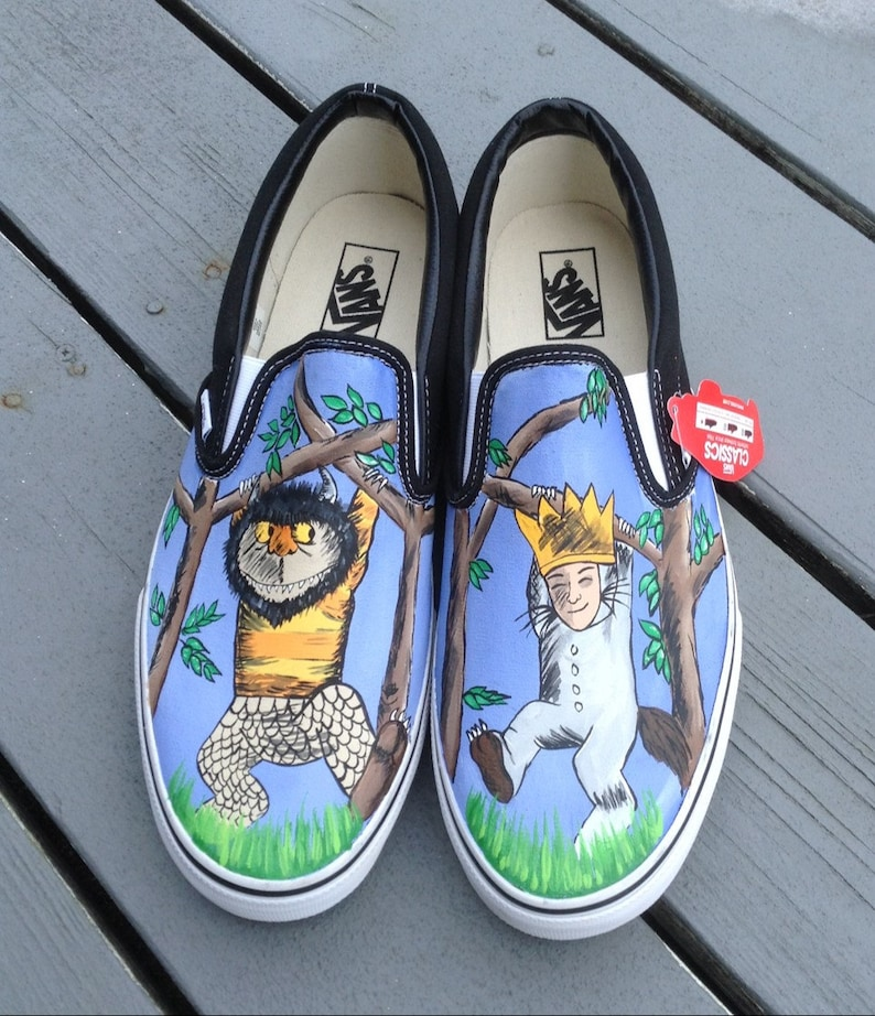 9300fd1f8d5096 Where the Wild Things Are VANS