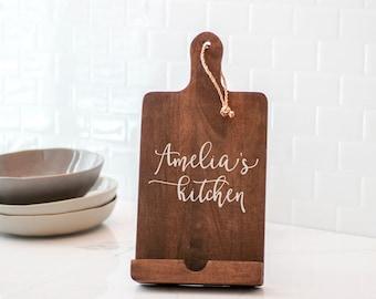 Kitchen ipad stand | Etsy
