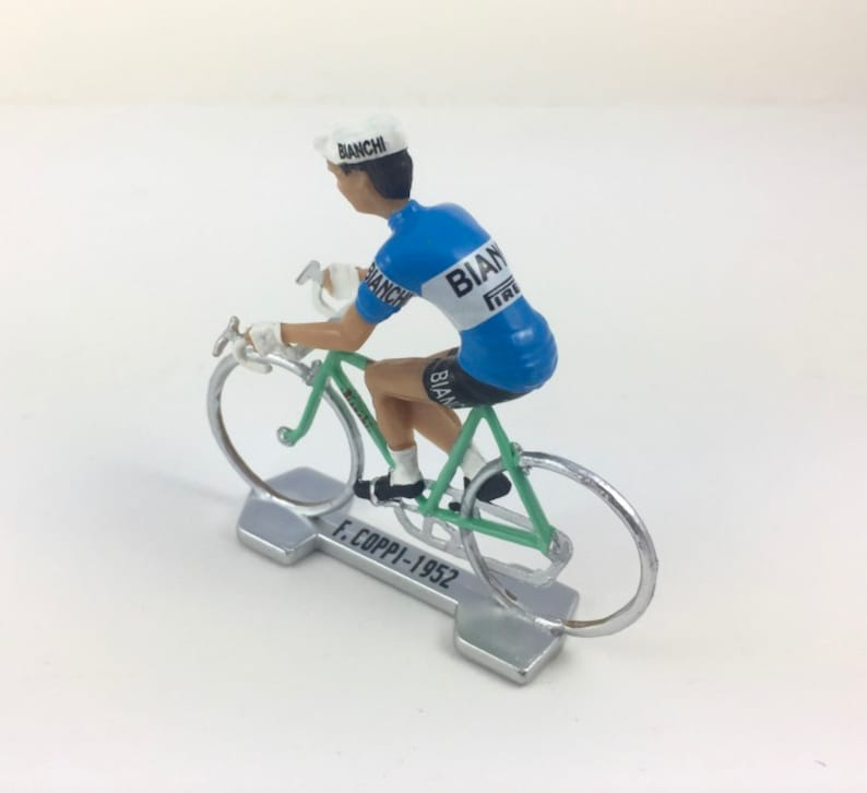 Cycling  Figurine Fausto Coppi Cycling  Bianchi 1952  image 1