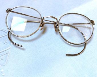 0d151248776 Antique eyeglass frames Harry Potter Look Round eyeglass