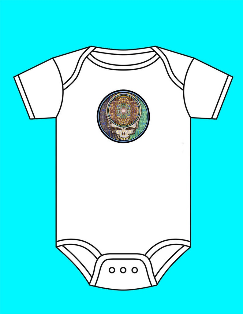 Baby T Shirts Grateiful Dead Infant Short Sleeve Top
