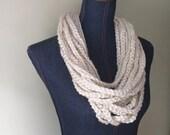 Chain Scarf Necklace / Mi...