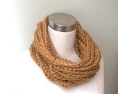 Honey Gold Scarf Necklace...