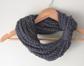 Gray Chain Scarf Necklace...