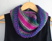Colorful Scarf / Hot Pink...