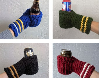 Beer Mitten, Christmas Presents for Husband, Xmas Gifts for Dad, Ice Fishing Gift for Father In Law, Adult Stocking Stuffer, White Elephant