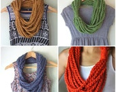 Chain Scarf Necklace / Ma...