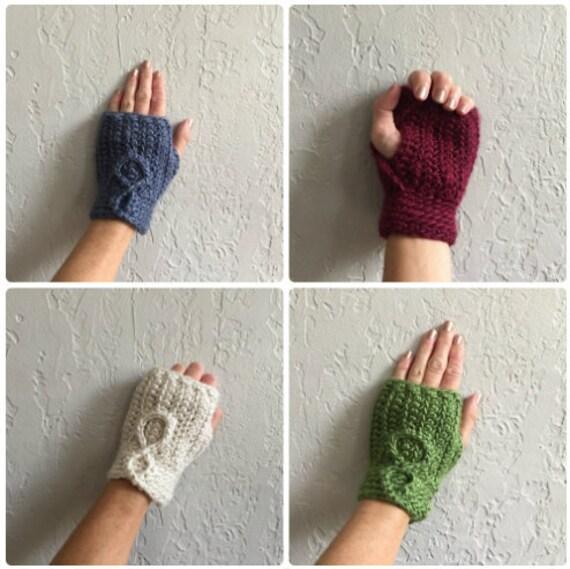 Fingerless Glove / Fingerless Mitten / Knit Fingerless Glove / | Etsy