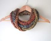 Woodland Scarf Necklace /...
