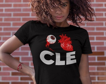 Cleveland T-shirt, Womens, I Love Cleveland