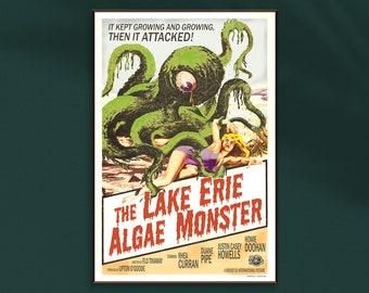 """Lake Erie Algae Monster Poster 12""""x18"""""""