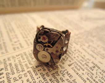 Swiss Watch Movement Ring