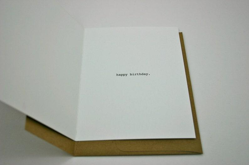 Funny Birthday Card Exam Time