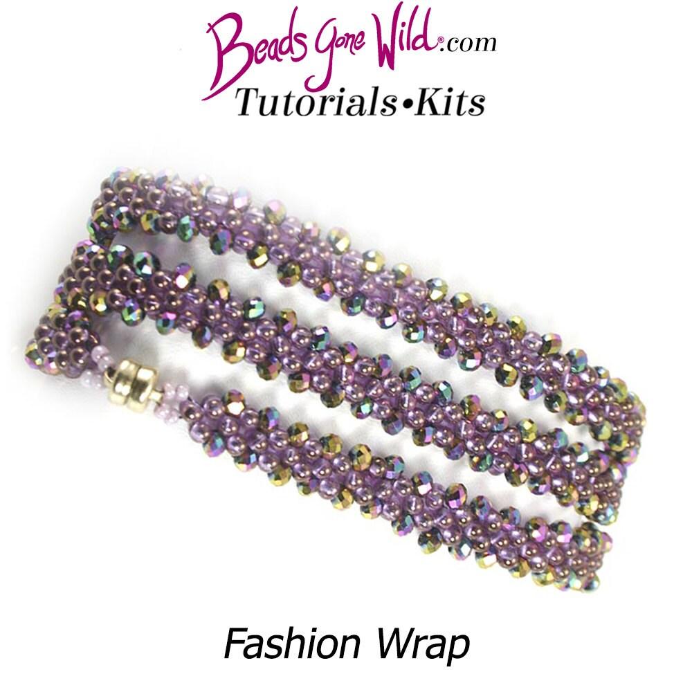 Mode Wrap Wrap Wrap Bracelet Kit (Kit de perles) 9f0312