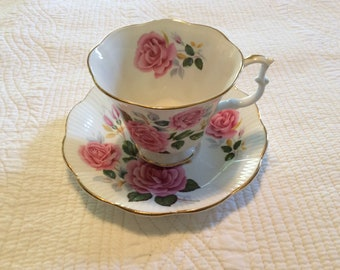 Royal Albert bone China cup and Saucer made in England