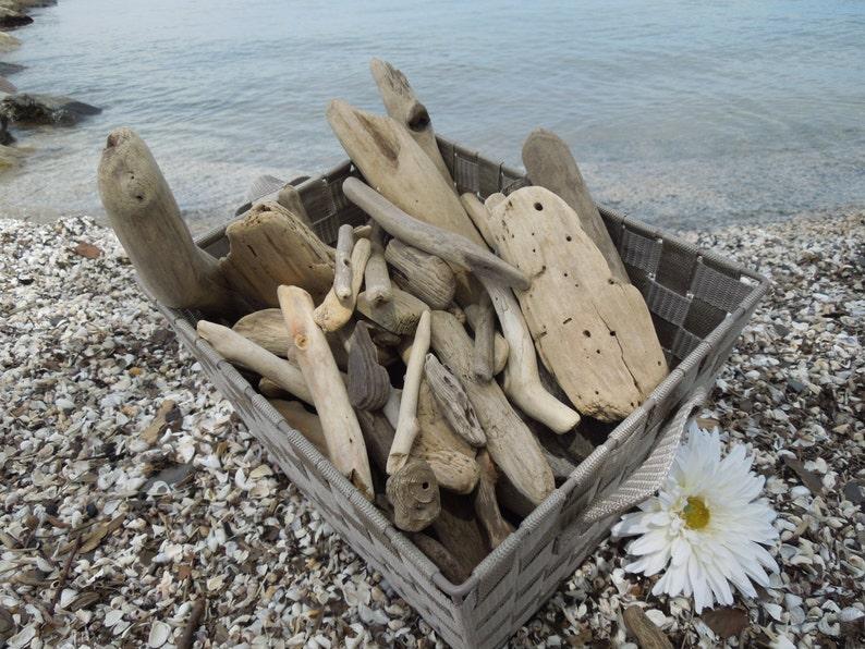 Large Bulk Driftwood 100 Driftwood Pieces Approximately image 0