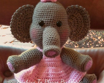 Baby Girl Elephant Doll Pattern