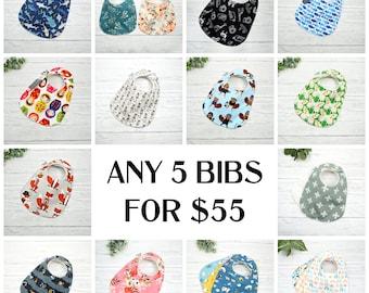 Baby Bibs, feeding bibs, drool protection, bibs for girls, bibs for boys, feeding baby, buy bibs in bulk, reusable bibs, bib deal, baby gift