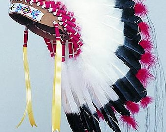 Sioux Warbonnet Kit Pow Wow Tribal Craft