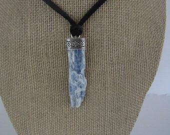 Blue Kyanite Pendant Kyanite Necklace Jewelry Crystal Boho Jewelry N1258