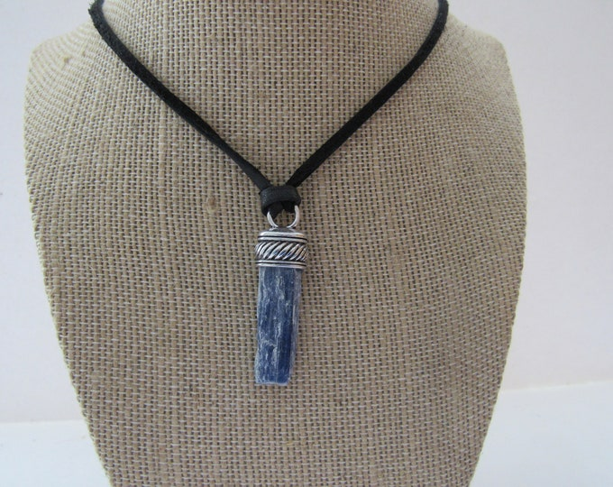 Blue Kyanite Pendant Kyanite Necklace Jewelry Crystal Boho Jewelry N1251
