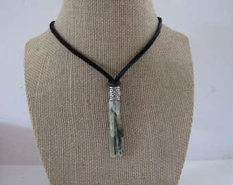 Green Kyanite Pendant Crystal Kyanite Necklace Jewelry Boho Jewelry N1242