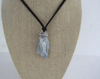 Blue Kyanite Pendant Kyanite Necklace Jewelry Crystal Boho Jewelry N1185