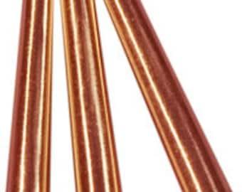 """100 Copper 1"""" Metal Cone  Cones  Craft  Supplies Regalia Pow Wow"""