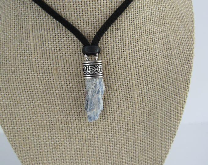 Blue Kyanite Pendant Kyanite Necklace Jewelry Crystal Boho Jewelry N1340
