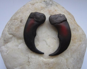 """Grizzly Bear Claws  2"""" Resin Replica Jewelry Making Tribal Craft Leather Crafting CL2"""