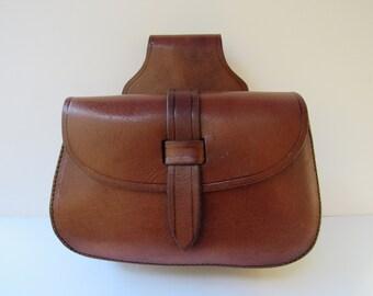 Belt Bag Early American Possibles Shooters Leather Bag  Reenactors Black Powder 23