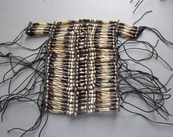 Two Tone Buffalo Bone Breastplate Choker Geronimo Regalia Pow Wow Native Inspired