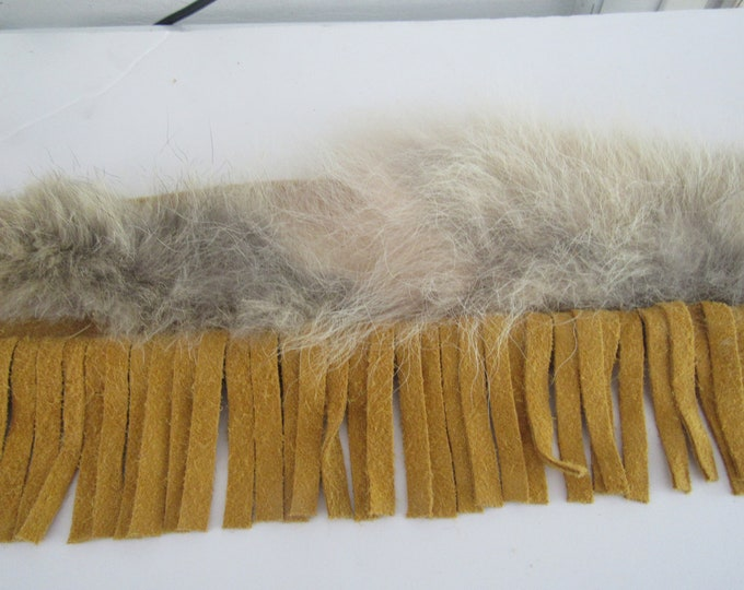 Pipe Leather Bag Fringed Flute Bag Coyote Fur Bag Tribal Pow Wow Rendezvous Native Inspired 2